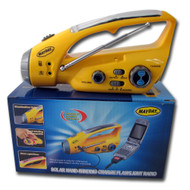 Solar Dynamo Radio with Flashlight -2 per order