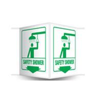 Safety Shower Sign 3D