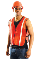 Reflective Safety Vest- Orange 2-3XL (6 vests)
