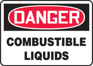Danger - Combustible Liquids