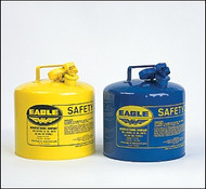 Eagle Type I Yellow  Safety Can for Diesel 5 Gallon w/o Funnel