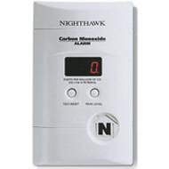 Carbon Monoxide Alarm w/ Digital Readout, Battery Back Up and Direct Plug