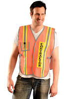 Safety Vest for Contractors S-XL (Set of 3 Safety Vests)
