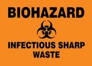 Biohazard Infectious Sharp Waste
