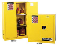 Justrite Flammable Storage Cabinet 45 gallon