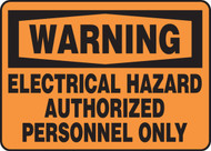 Warning - Electrical Hazard Authorized Personnel Only