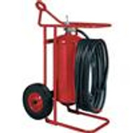 Badger Fire Extinguisher - 125 lb Wheeled ABC, Stored Pressure