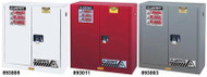 Justrite Gray Safety Cabinet for Flammables- 45 Gallon