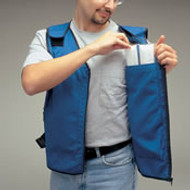 Flame/ Heat Retardant Cooling Vest for Cooling Inserts (Vest Only)-  XXL