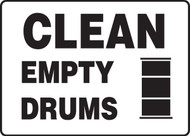 Clean Empty Drums