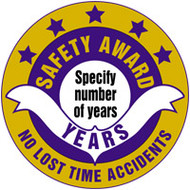 Safety Award No Lost Time Accidents years