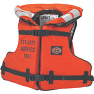 """Stearns Work Master Life Preserver- Adult Oversize- 52""""-62"""" Chest"""