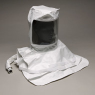 Pharmaceutical Hood- Saran Double Bib- Maintenance Free- Saran Hood