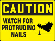 Caution - Caution Watch For Protruding Nails - Max Aluma-Wood - 36'' X 48''