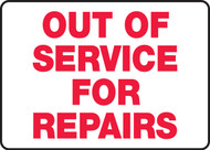 Out Of Service For Repairs