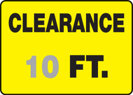 Clearance ___ Ft.