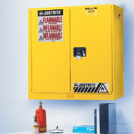Justrite Wall Mount Flammable Storage Cabinet- Manual