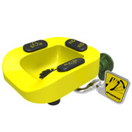 Speakman Optimus Eye and Face Wash Combo- ADA Compliant Yellow Plastic Bowl