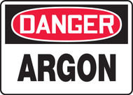 Danger - Argon - Re-Plastic - 10'' X 14''