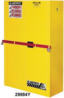 Justrite High Security Safety Cabinet w/ Draw Bar- 45 Gallon
