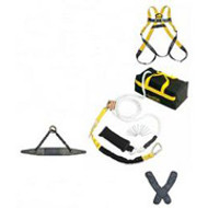 Roofer Fall Protection Kit- Premium w/ 50
