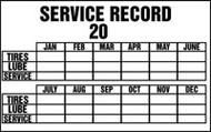 Service Record 20