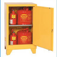 Eagle 12 Gallon Flammable Storage Cabinet-with legs