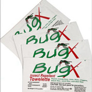 BugX- Insect Repellent Towels- 50/Box