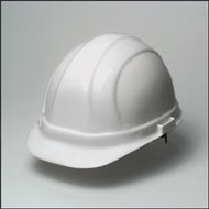 Hard Hat  w/ 6 Point Suspension- White Hard Hat