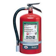 Haltron I Store Pressure Fire Extinguisher- Badger- 11 lbs with wall hook