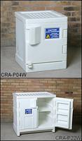 Eagle White Poly Acid/Corrosive Safety Cabinet 22 gallon