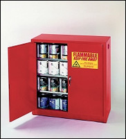 Eagle 40 Gallon Paint and Ink Safety Cabinet- Red