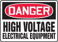 Danger - High Voltage Electrical Equipment