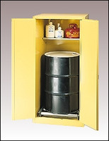 Eagle  Drum Cabinet 55 Gal. Self Closing Vertical Drum