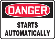 Danger - Starts Automatically