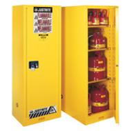 Justrite Slimline Flammable Storage Cabinet  22 Gallon