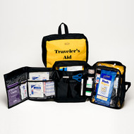 Travelers Aid - 73 Piece Personal Hygiene and First Aid Kit -2 kits per order
