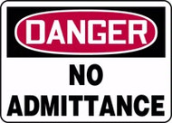 Danger - No Admittance