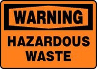 Warning - Hazardous Waste