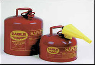 Eagle Type I Safety Can Red 5 Gallon with Funnel