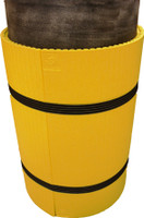 Park Sentry Column Protector - Round Yellow (carton of 3)