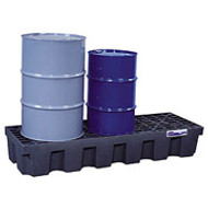 Spill Containment Pallet 3 Drum Inline by Justrite