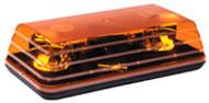 Ecco Mini Light Bar Amber/ Flush Mount