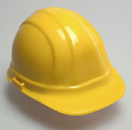 Hard Hat with Ratchet- Yellow Hard Hat