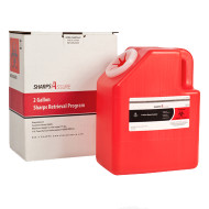 Sharps Retrieval Program 2 Gallon