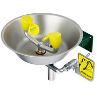 Speakman Emergency Eyewash Wall Mount Stainless Steel Bowl