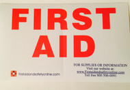 First Aid Kit Sticker- for 2,3,4, or 5 Shelf First Aid Kits
