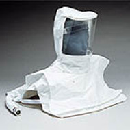 Double Bib Pharmaceutical Tyvek Hood w/Personal Air Cooler