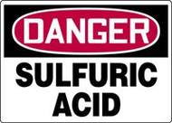 Danger - Sulfuric Acid