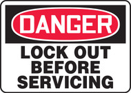 Danger - Lock Out Before Servicing